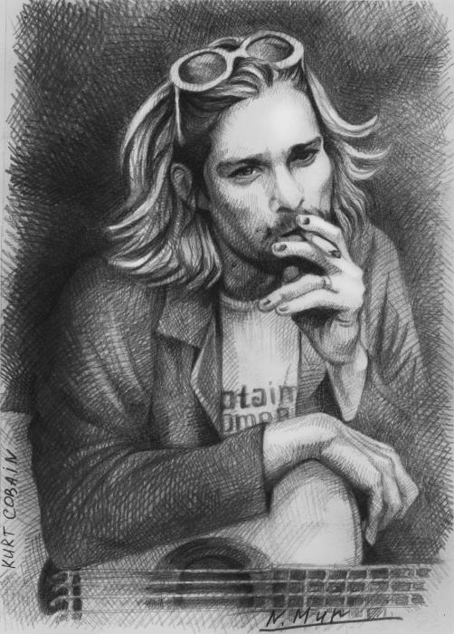 Kurt Cobain par Natamur